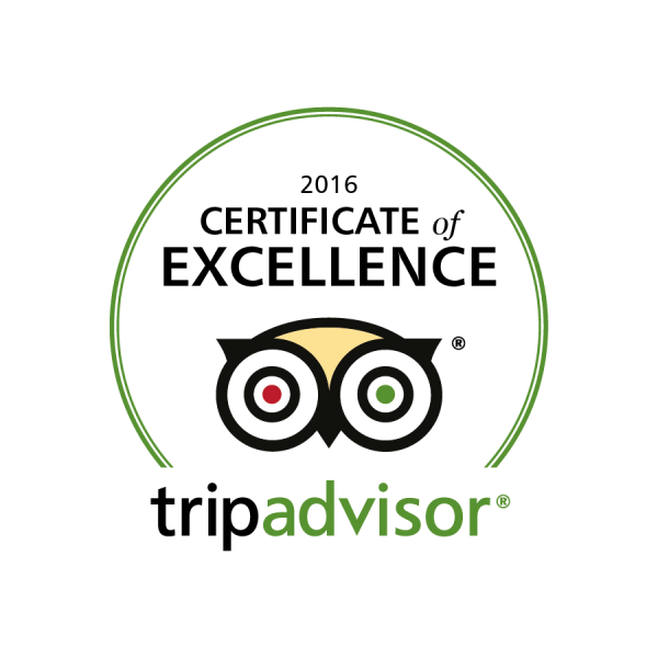 We did again! BahBQ receives 2016 TripAdvisor Certificate of Excellence