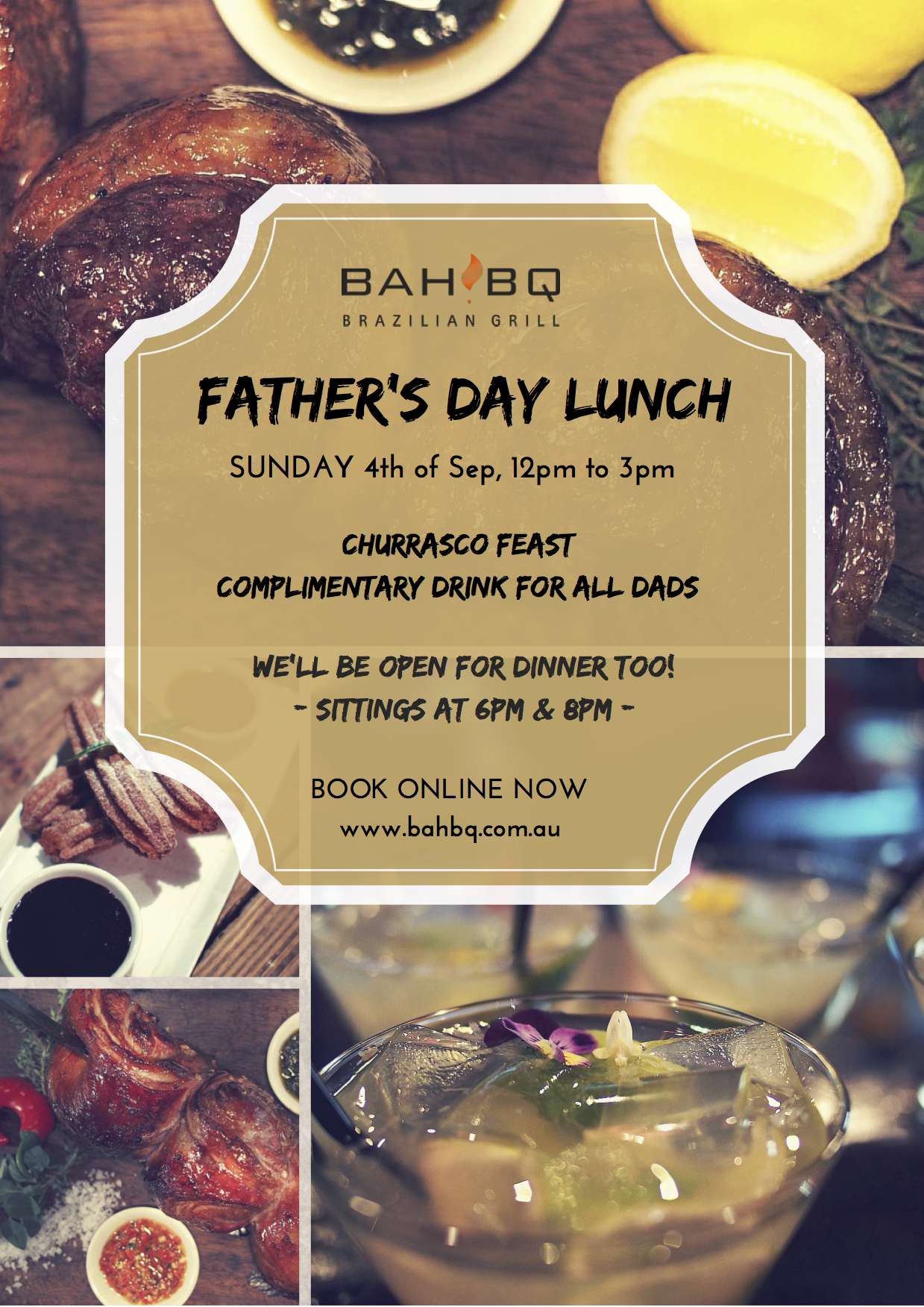 Father's Day at BahBQ!