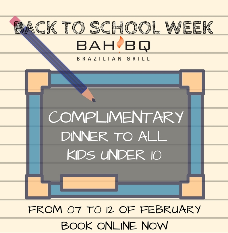 Back to School Week at BahBQ