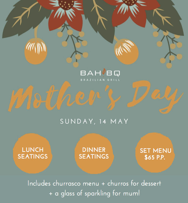 Celebrate Mum with us on 14 May