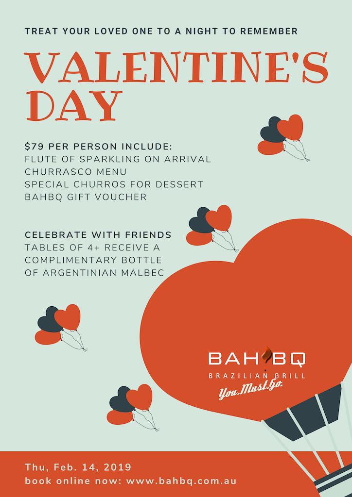 Valentine's Day at BahBQ