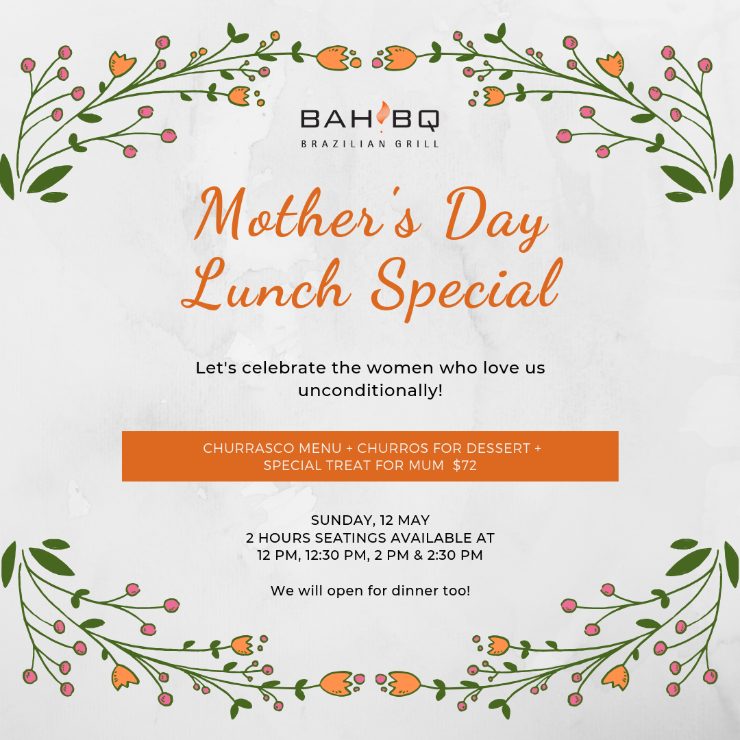 Special Mother's Day Lunch