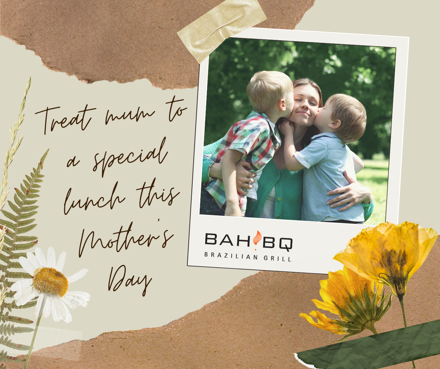 Treat Mum to a Special BahBQ feast this Mother's Day